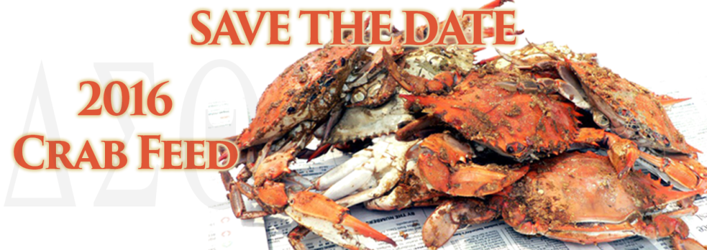 Save the Date: Sacramento Alumnae Chapter 2016 Crab Feed